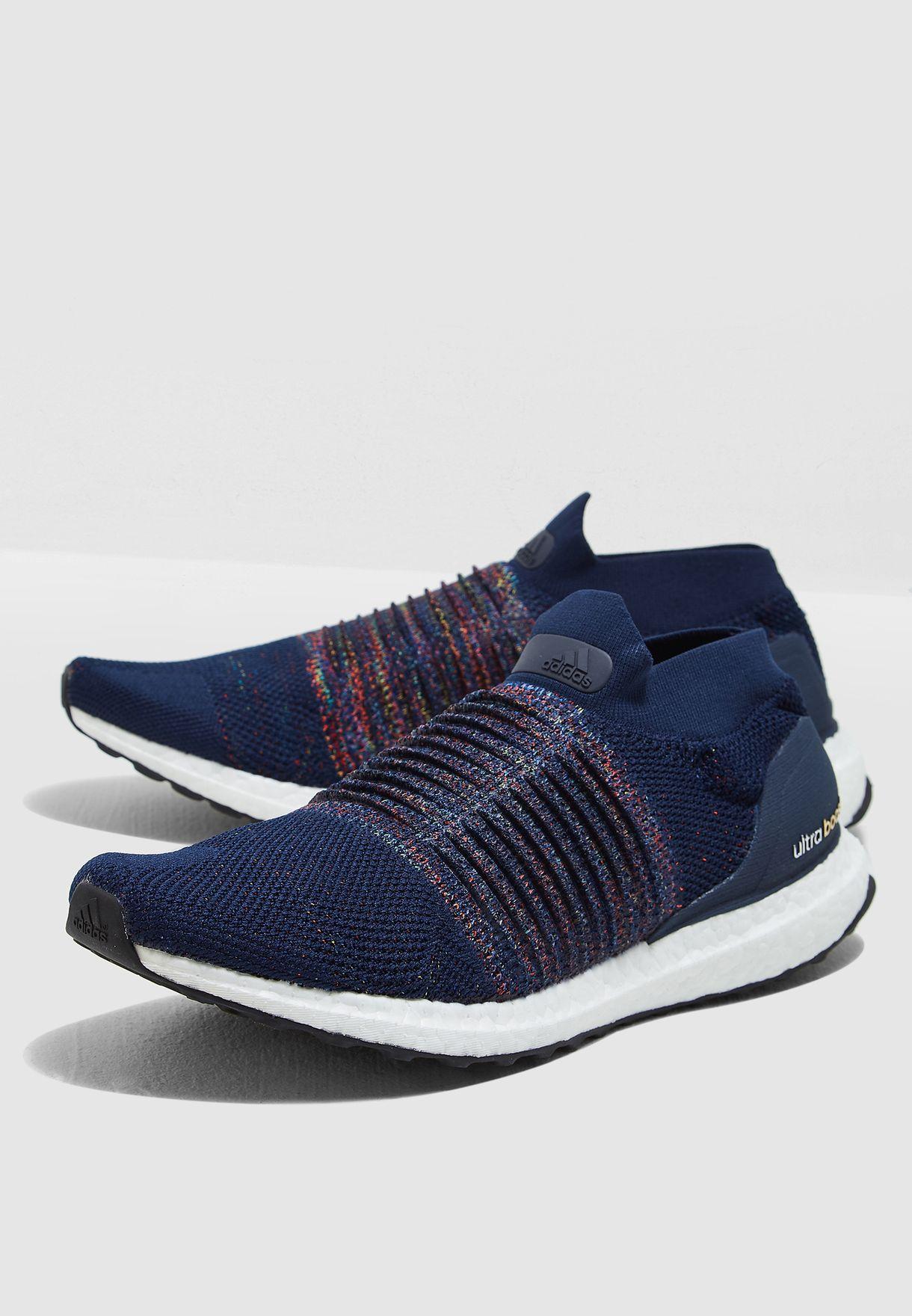 9dbdad9276891 تسوق حذاء الترا بوست بدون اربطة ماركة اديداس لون كحلي CM8269 في ...
