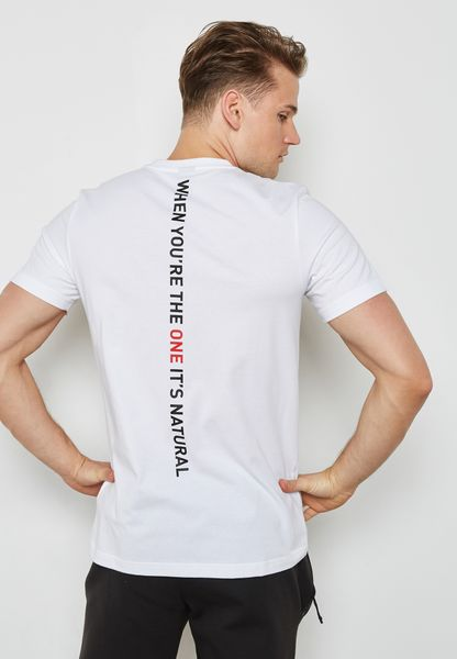 Rose Slogan T-Shirt