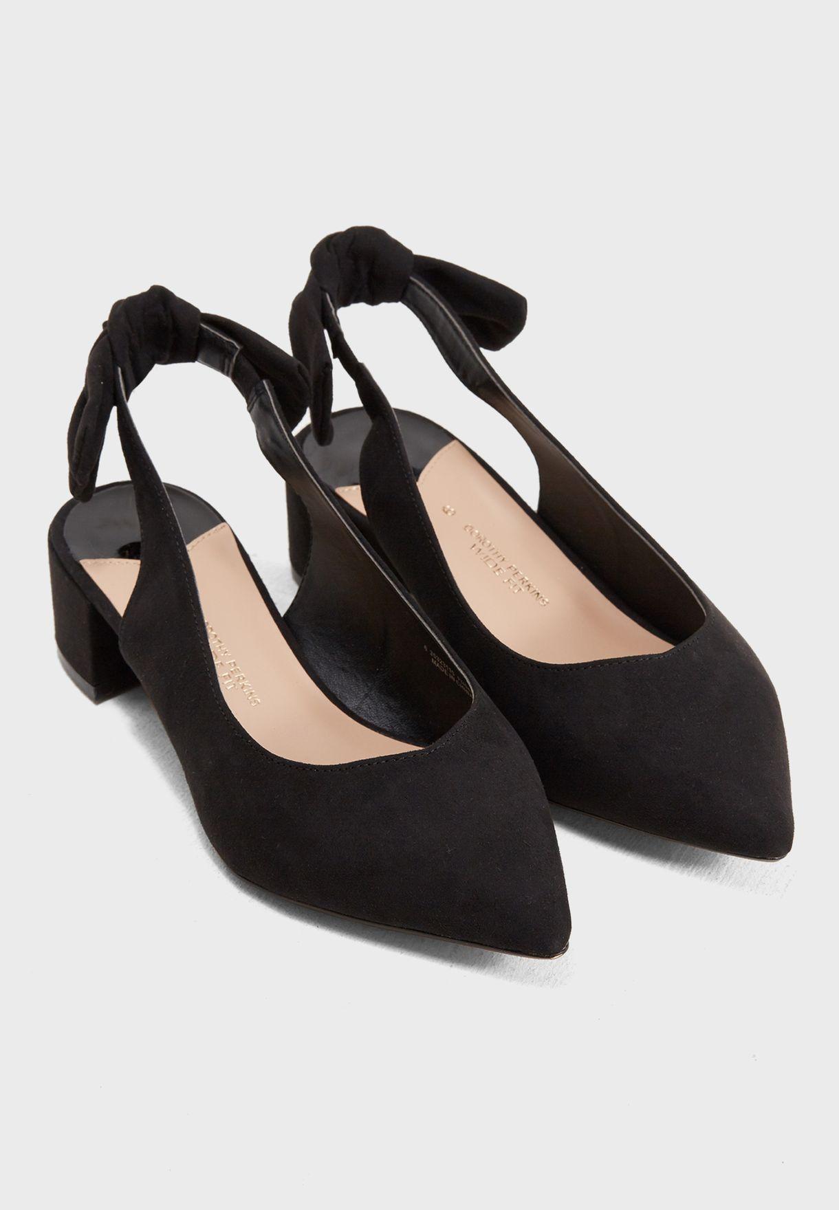a27a4a25be9 Shop Dorothy Perkins black Microfibre Gossip Courts 35323110 for ...