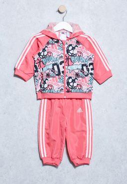 Infant Hooded Jogger Set