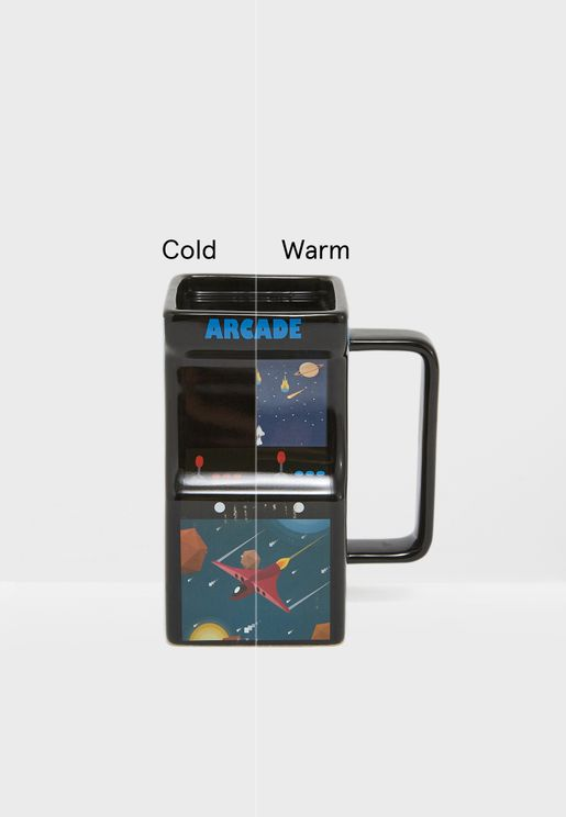 Colour Changing Arcade Mug