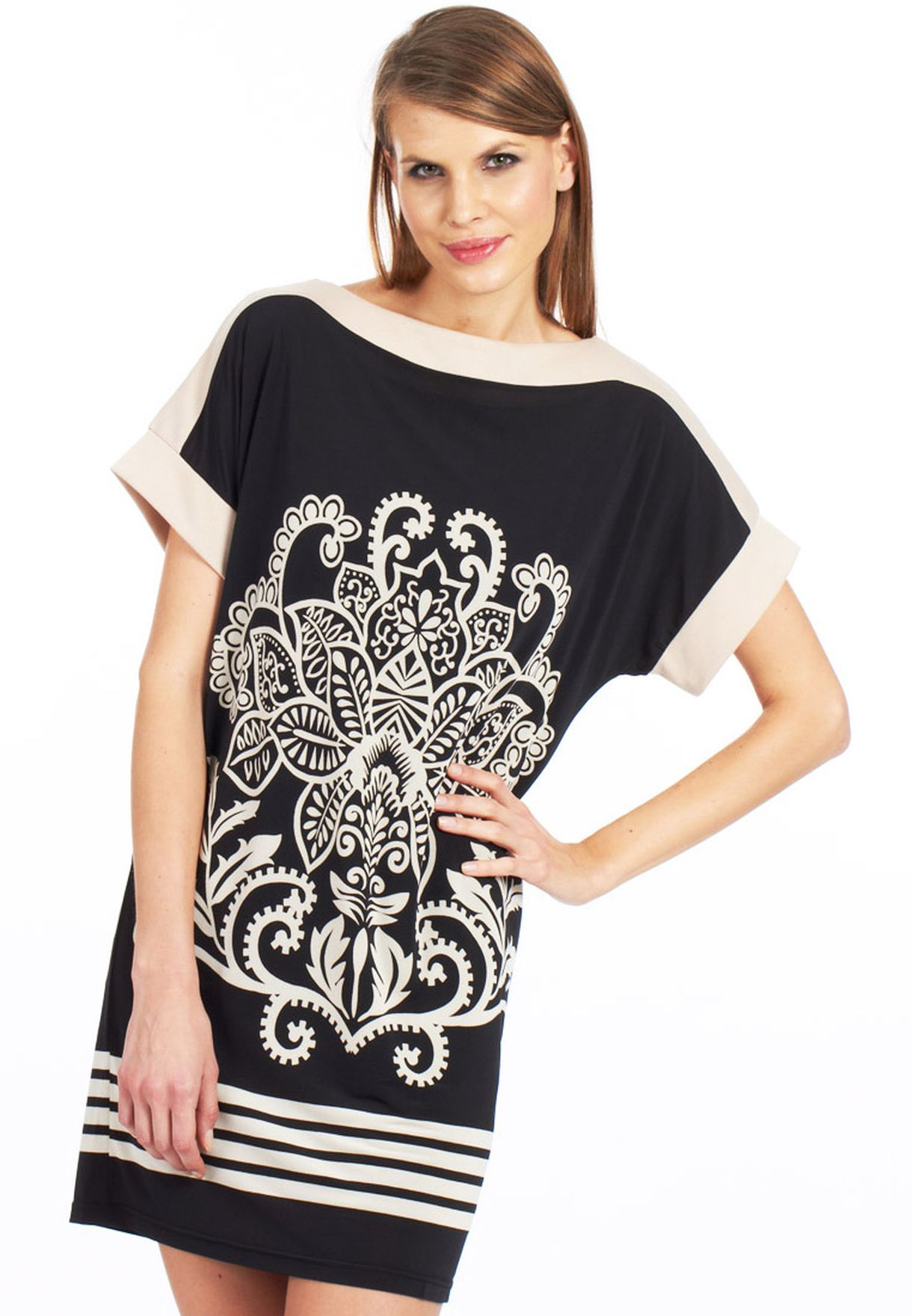 01744f67 Shop Orion black Louise Casual Dress for Women in Bahrain - OR319AT61MOK