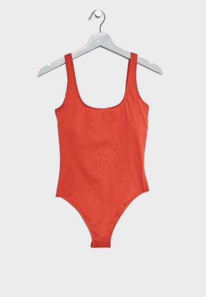 Deep Back Swimsuit
