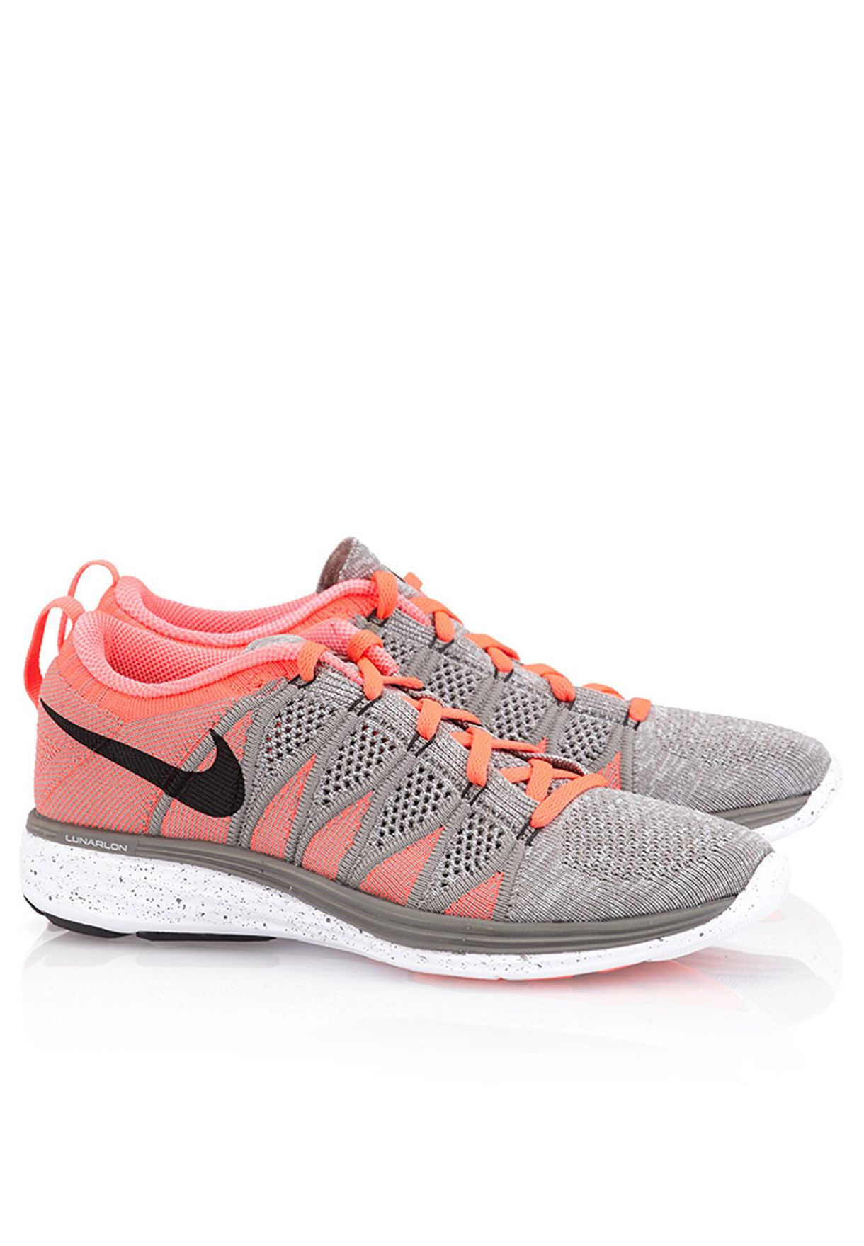wholesale dealer 500f2 e00b9 Shop Nike grey Flynit Lunar 2 620658-006 for Women in Kuwait ...