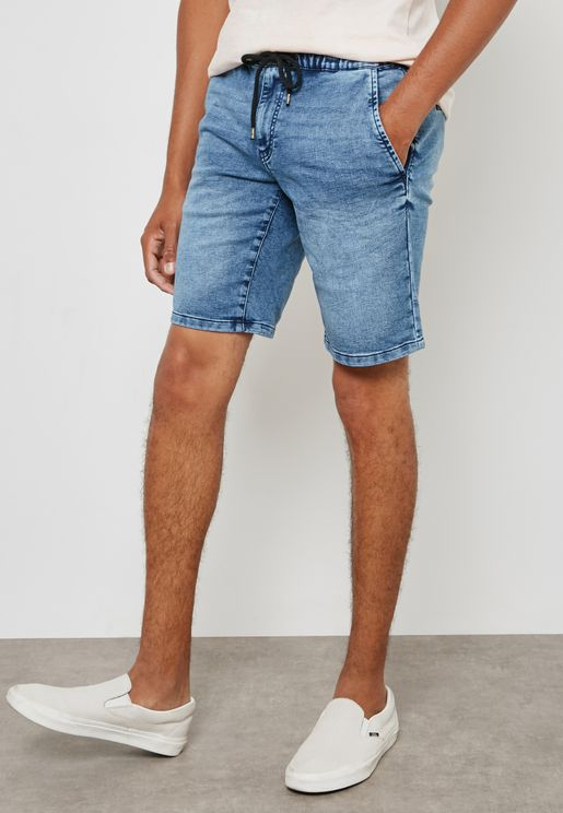 Linus Denim Shorts