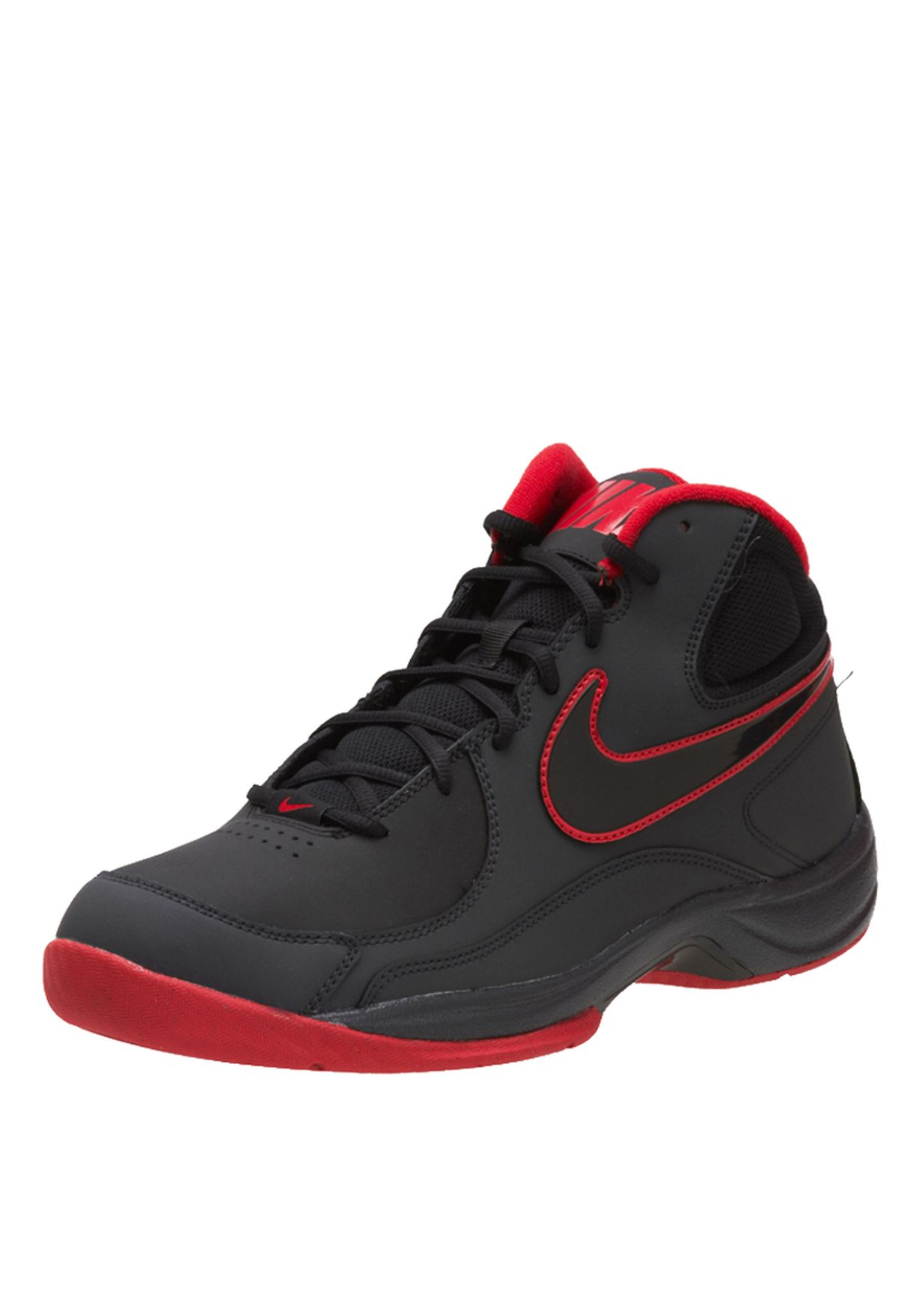 Nike black The Overplay VII Trainers