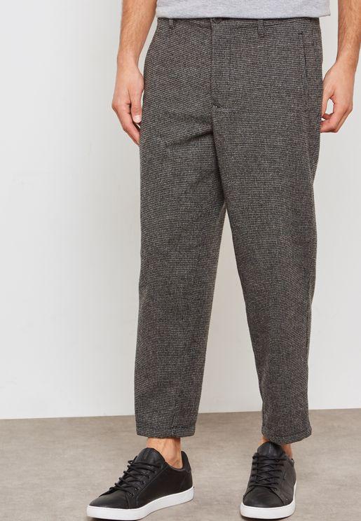Lars Wool Crop Trousers