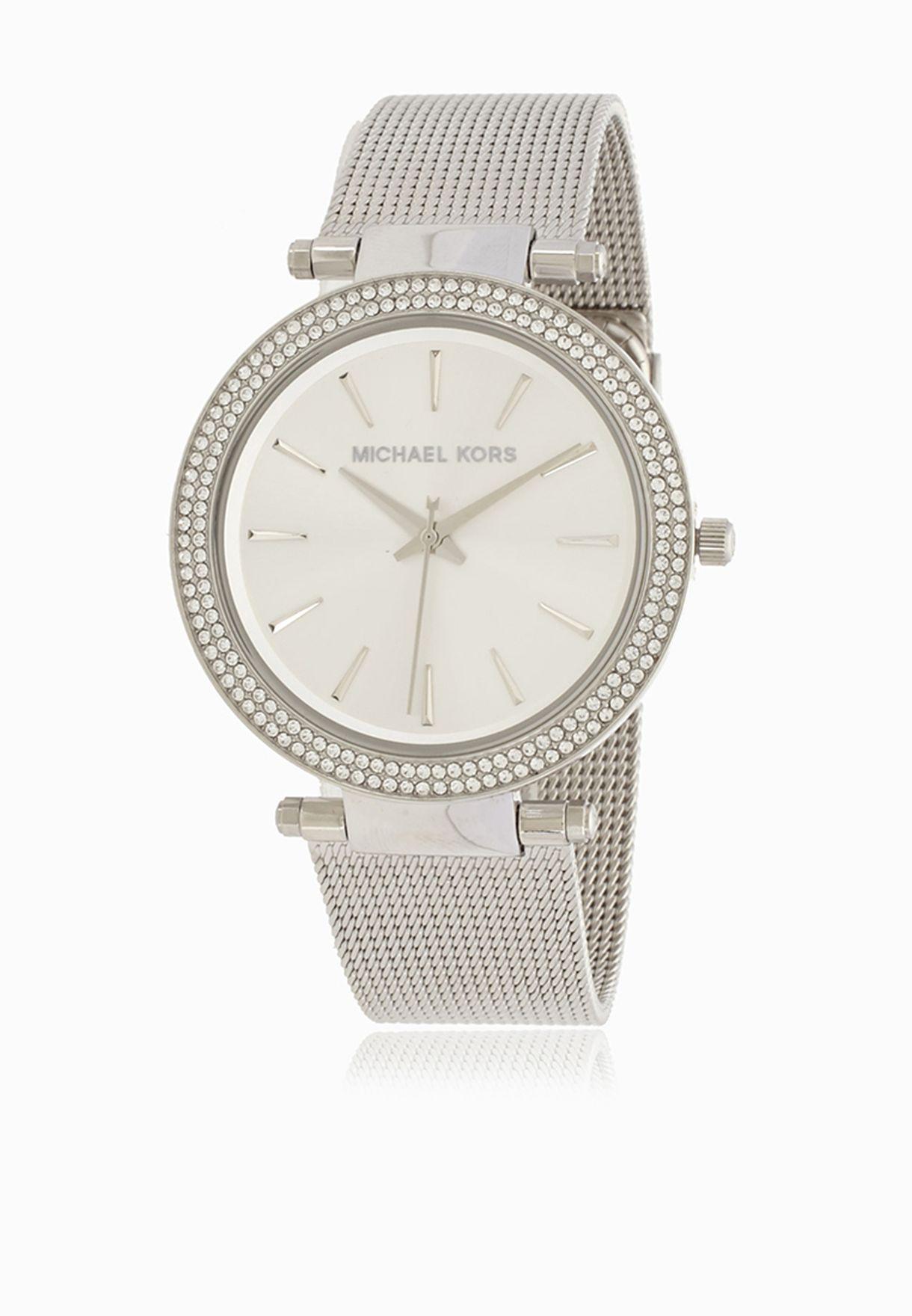 8b226bafef53 Shop Michael Kors silver Darci Watch MK3367 for Women in UAE ...
