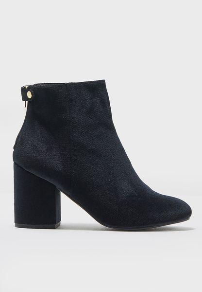 Mariah Velvet Boots