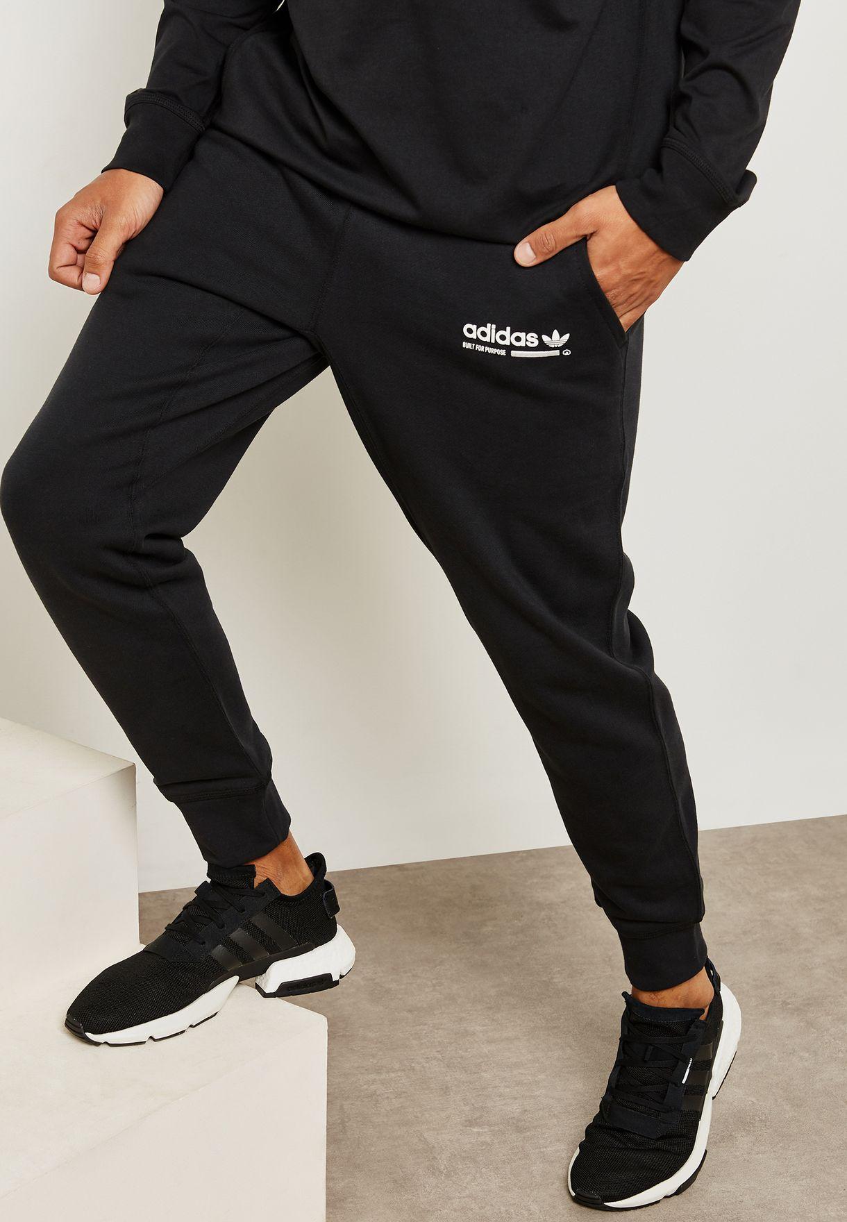a45b84ac7 Shop adidas Originals black Kaval Sweatpants DH4936 for Men in UAE ...