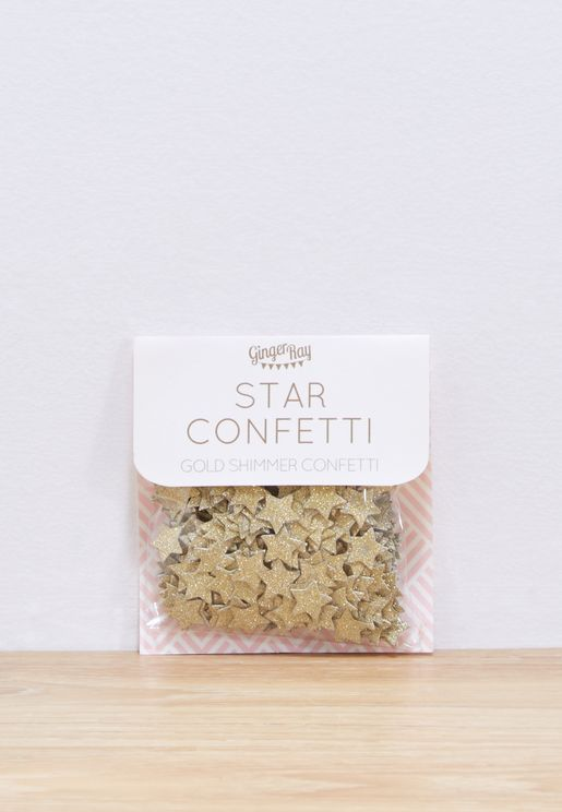 Perfection Star Confetti