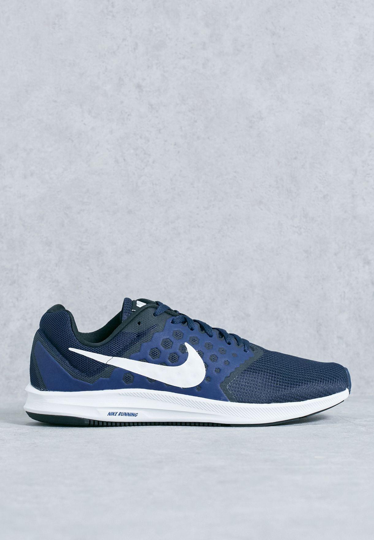 60a1dda8d024 Shop Nike navy Downshifter 7 852459-400 for Men in UAE - NI727SH61ZEW