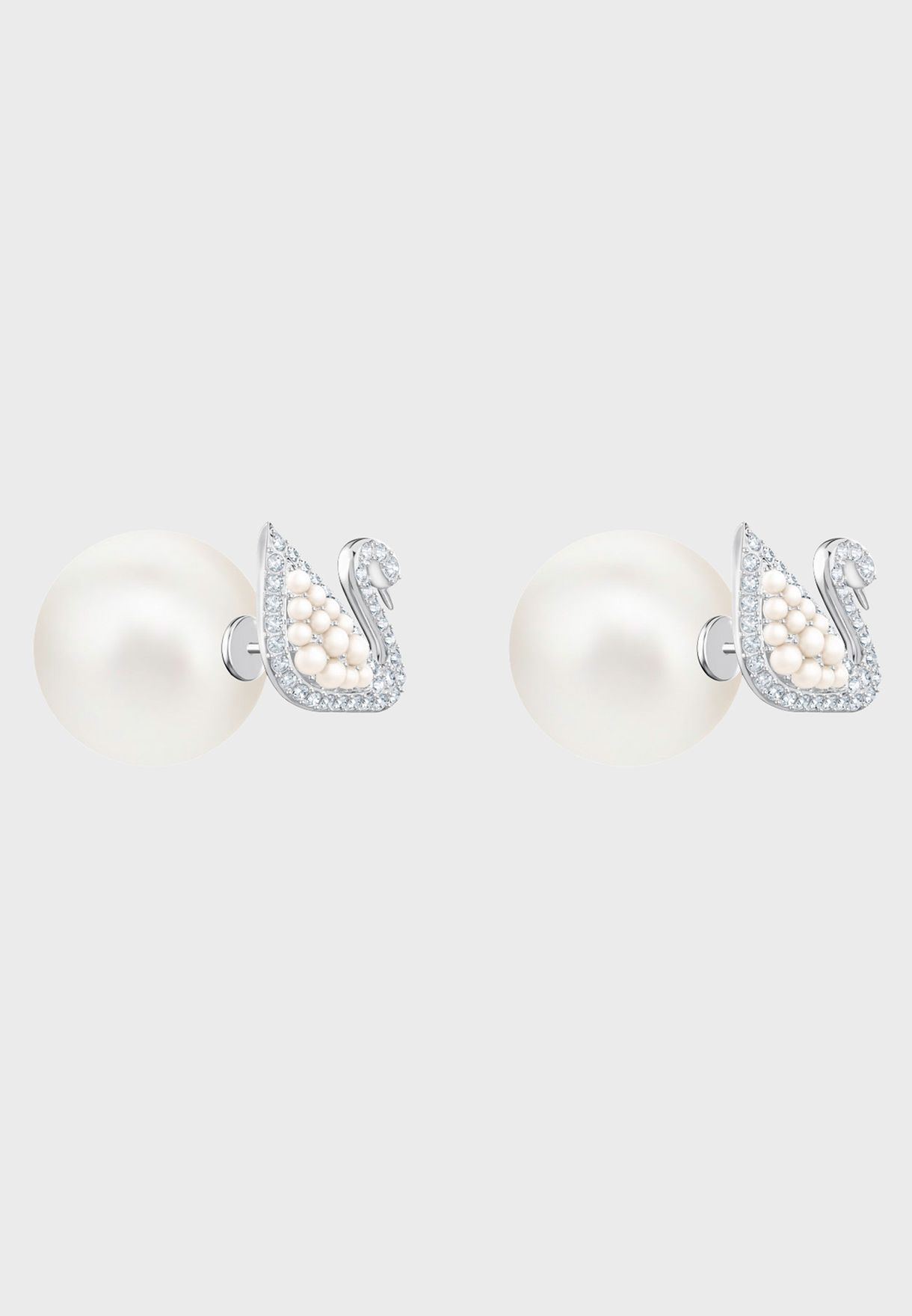 Iconic Swan Pe Stud Earrings