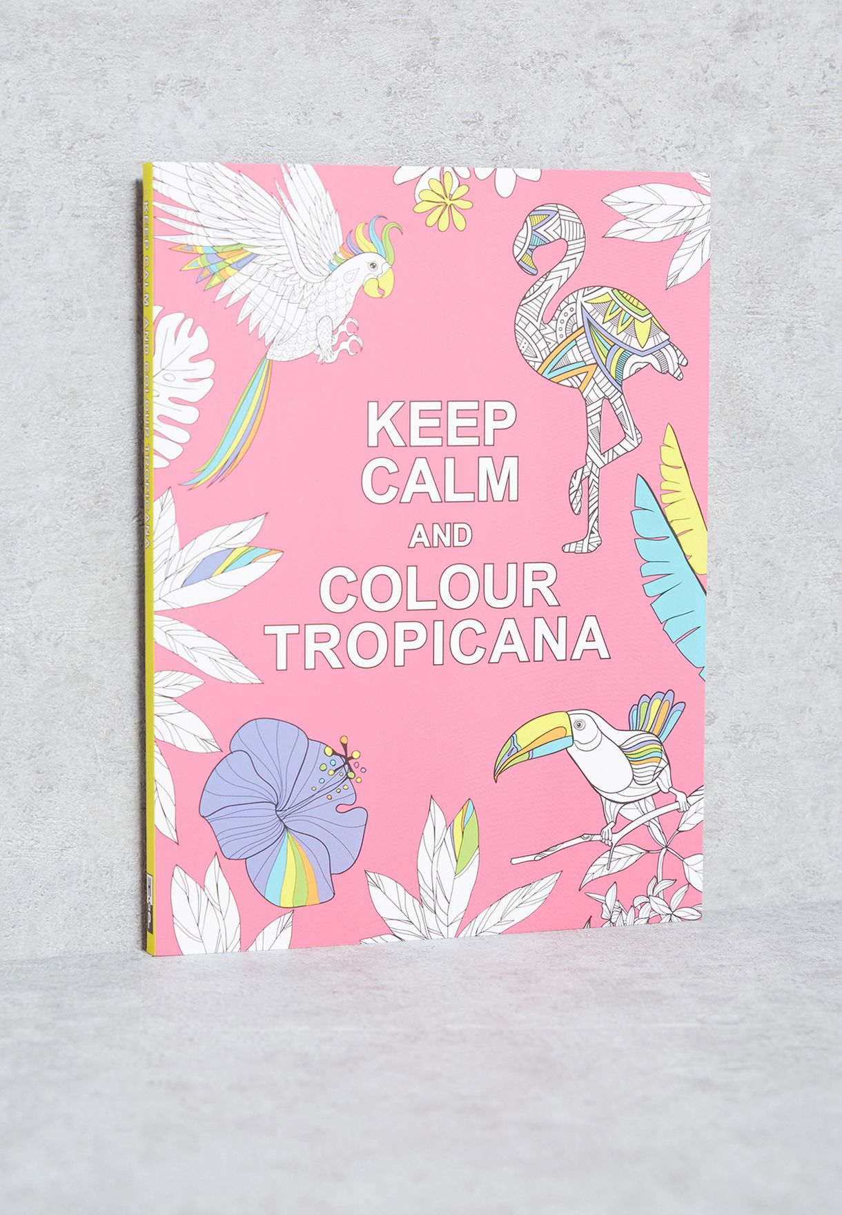 Keep Calm & Colour Tropicana Book