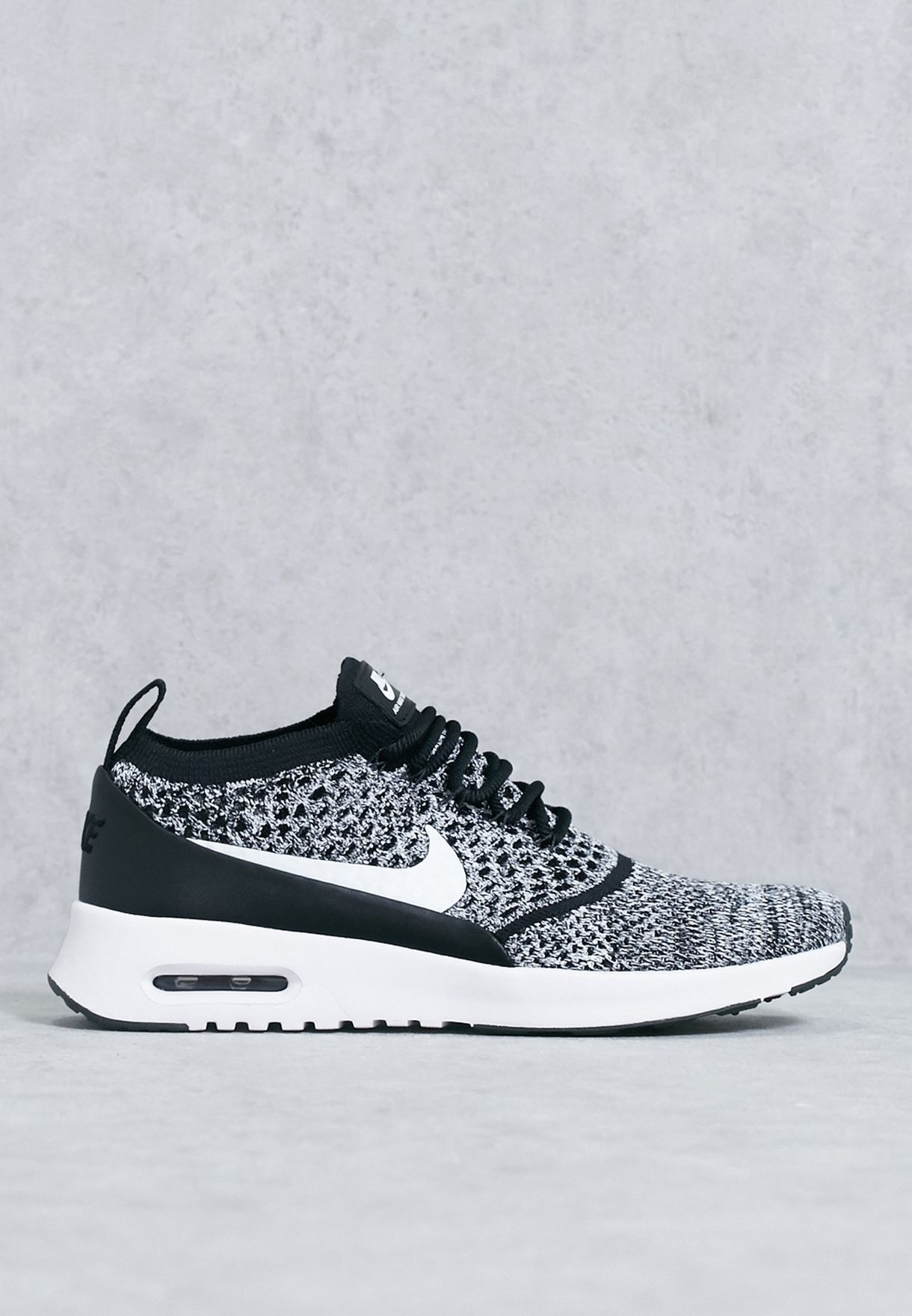 f60fe8f340 Shop Nike monochrome Air Max Thea Ultra Flyknit 881175-001 for Women ...