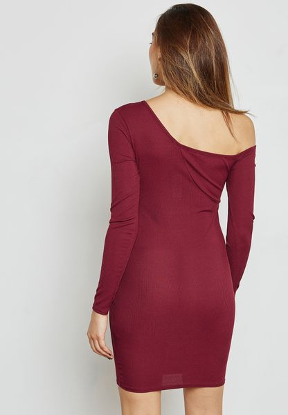 I Saw It First. One Shoulder Dress