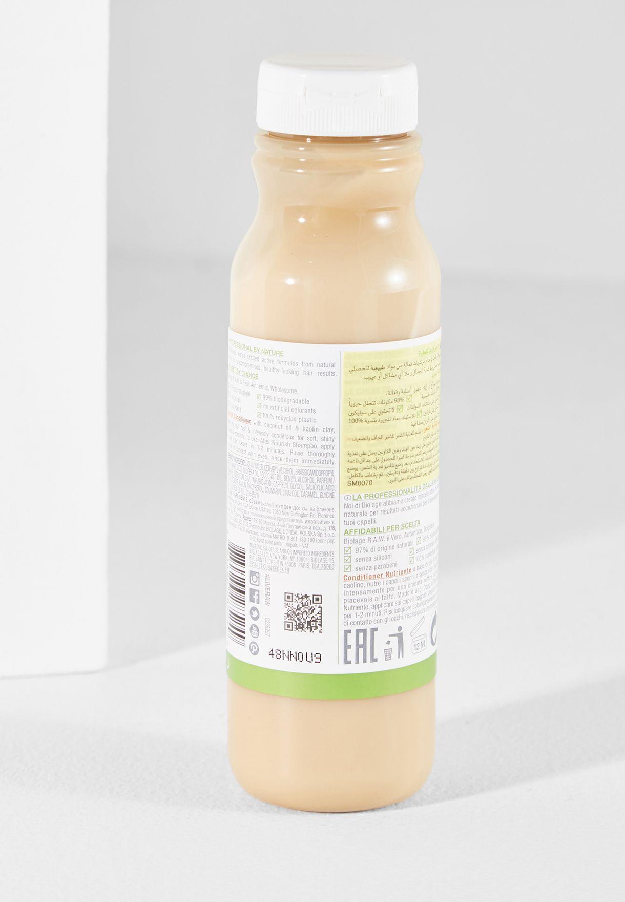 Biolage RAW Nourishing Conditioner 325ml