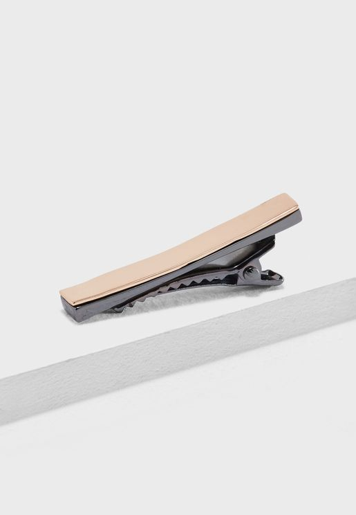 Two Tone  Bottom Tie Bar