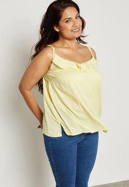 Frill Front Camisole Top