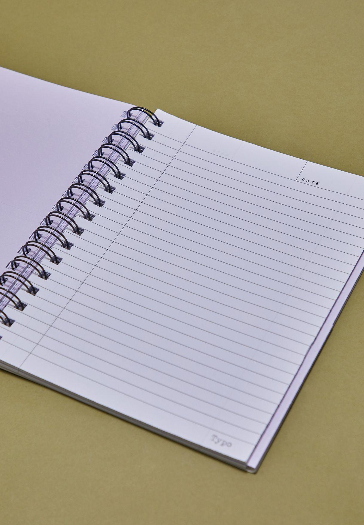 دفتر ملاحظات بطبعات ازهار