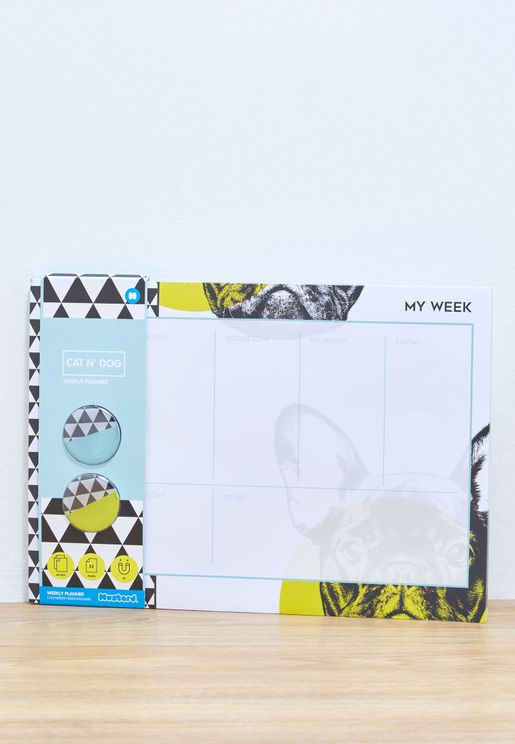 Dog Weekly Planner