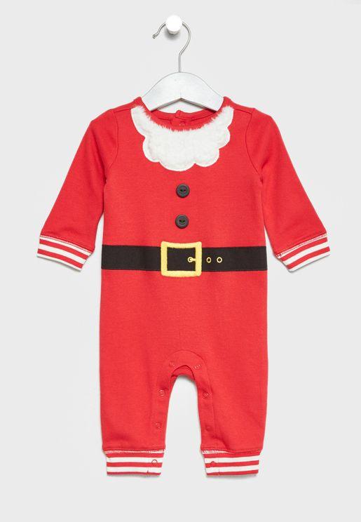 Infant Santa Onesie