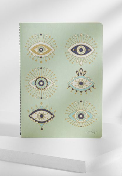 A5 Evil Eyes Notebook