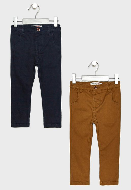 Infant 2 Pack Chino Pants