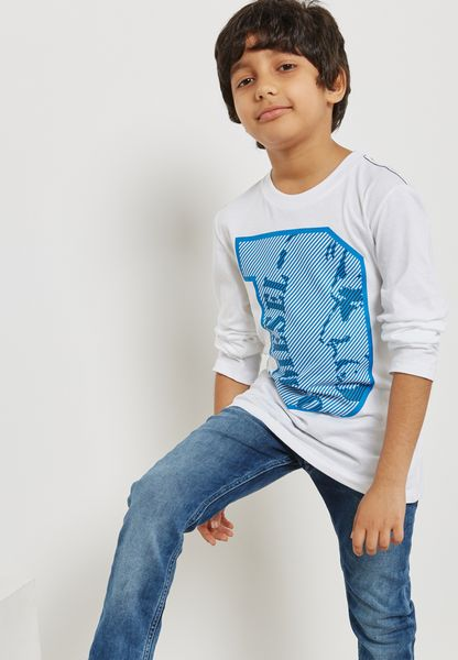 Kids Turi Printed T-Shirt
