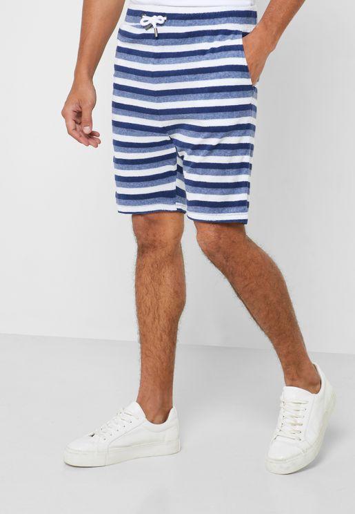 Oceanic Printed Shorts