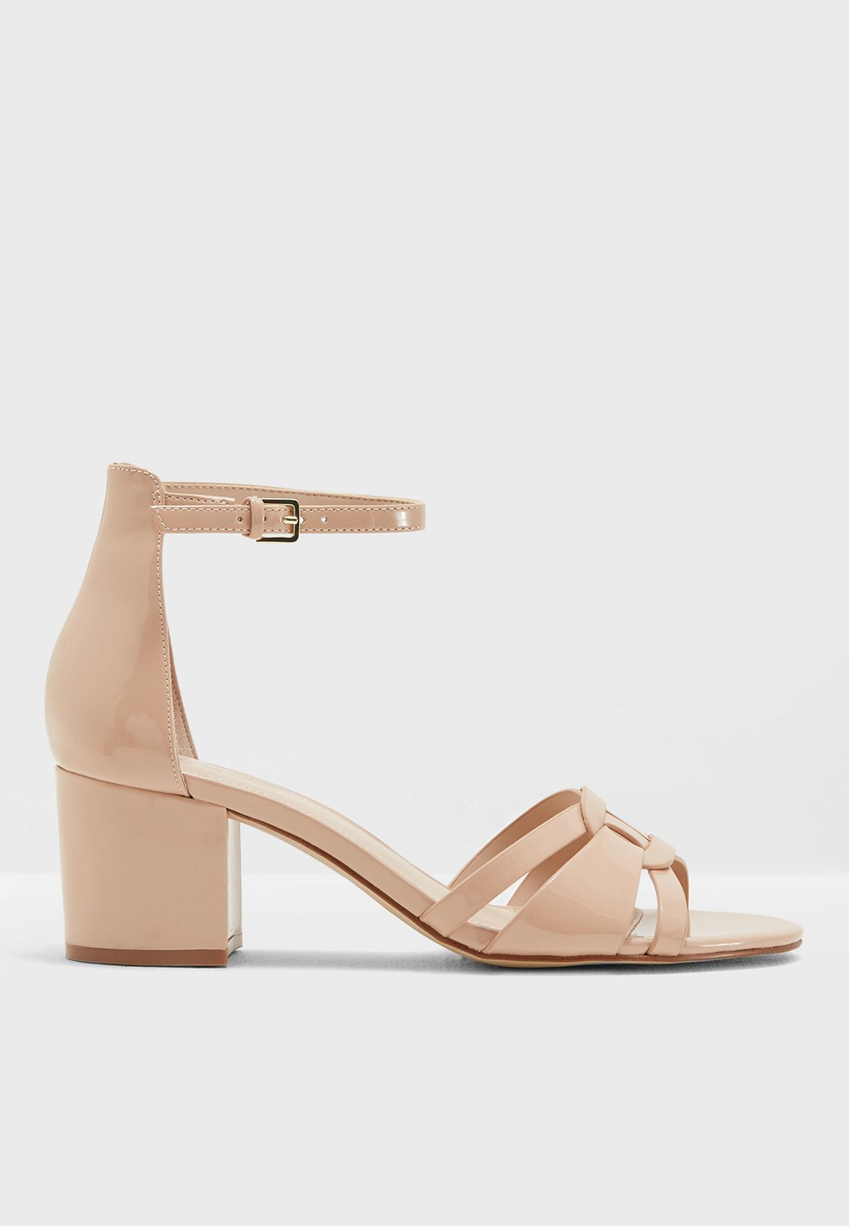 612e81615023 Shop Aldo beige Agredia Mid Heel Sandal AGREIDIA34 for Women in UAE ...