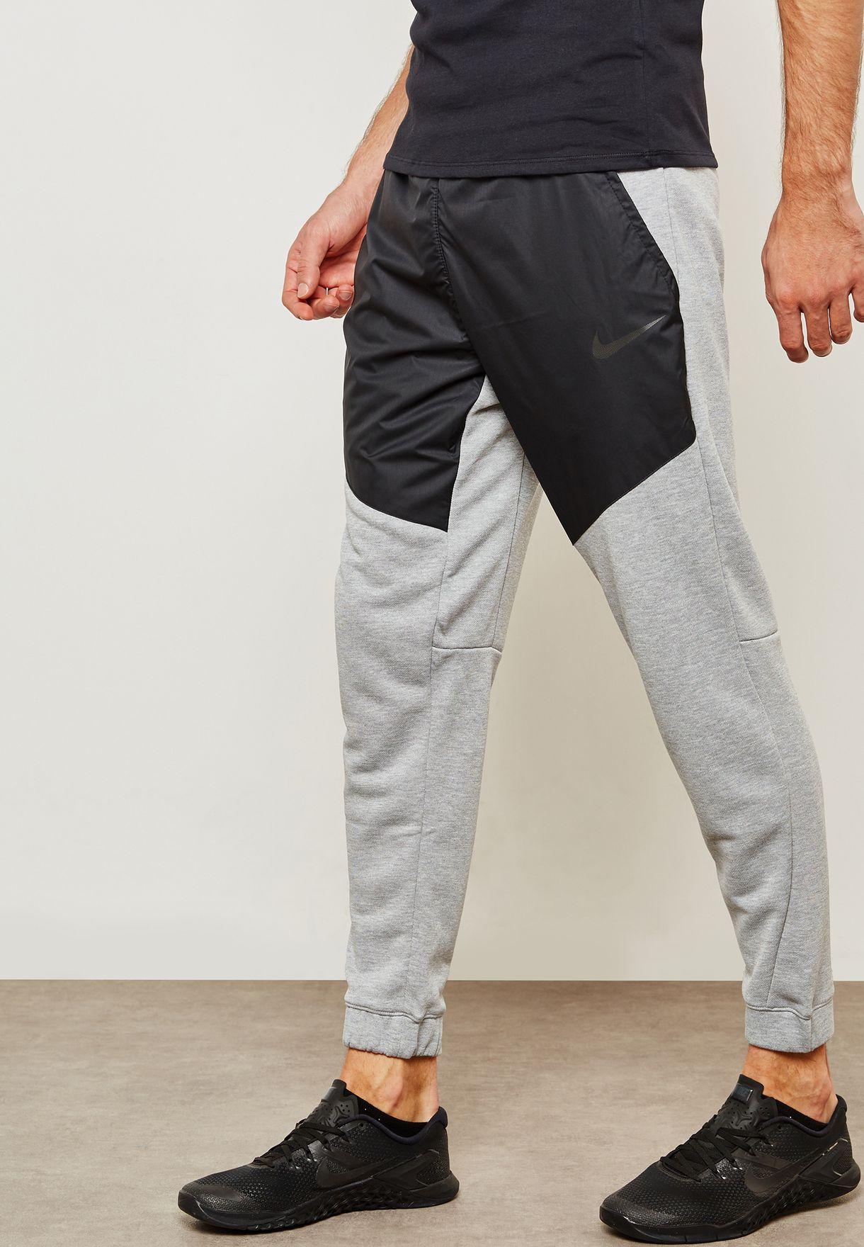 45f5d6bd6a5b Shop Nike grey Dri-FIT Fleece Utility Core Sweatpants AJ7032-063 for ...