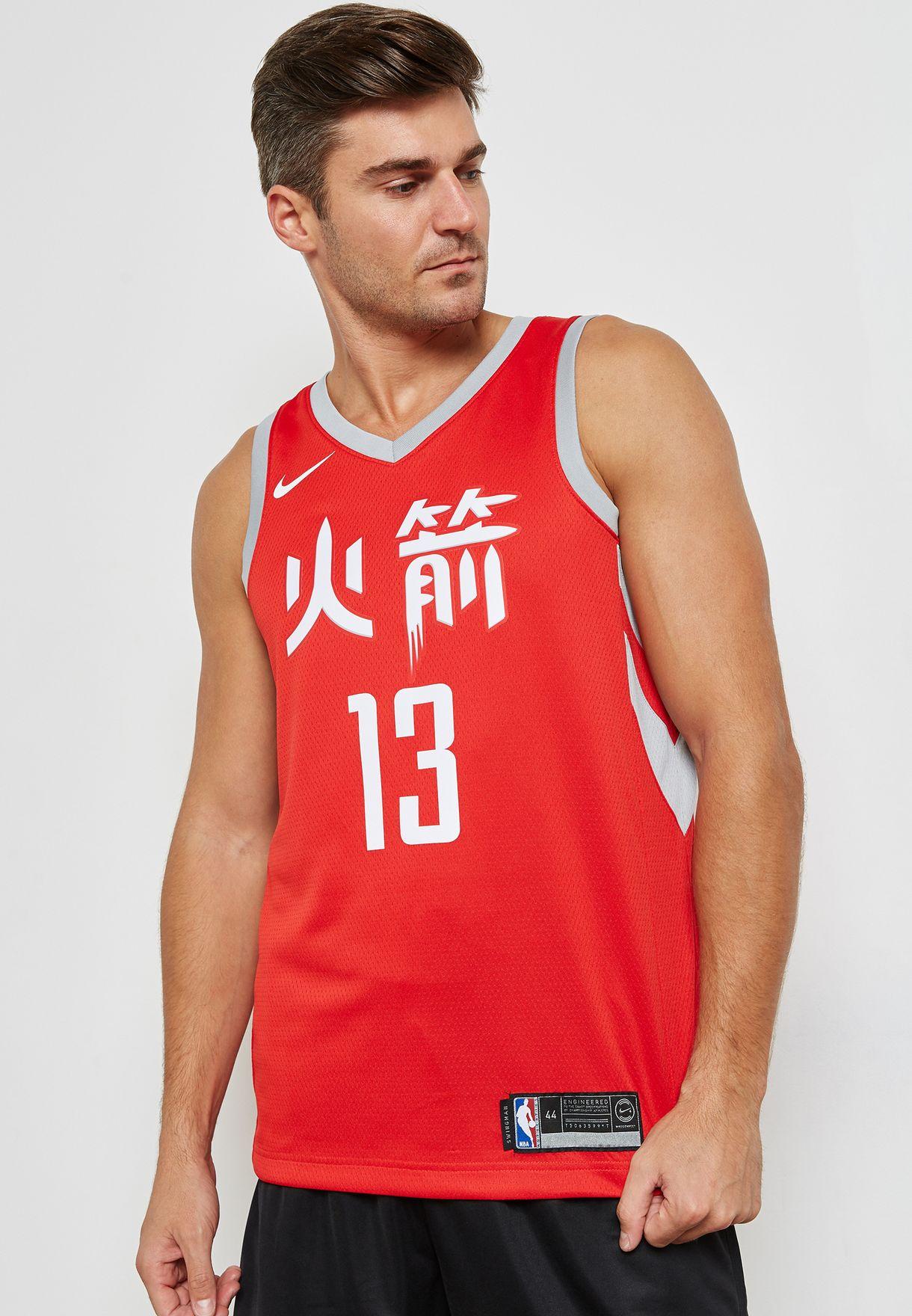 size 40 8d254 15ff5 Houston Rockets James Harden Swingman Jersey