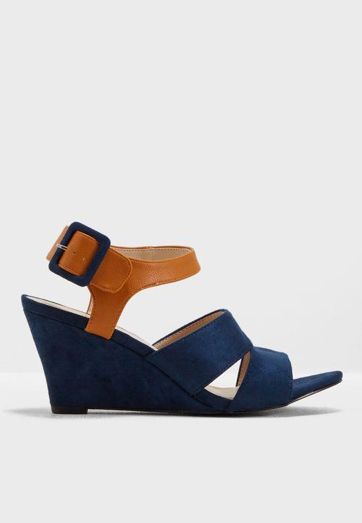 Silvi Wedge Sandal