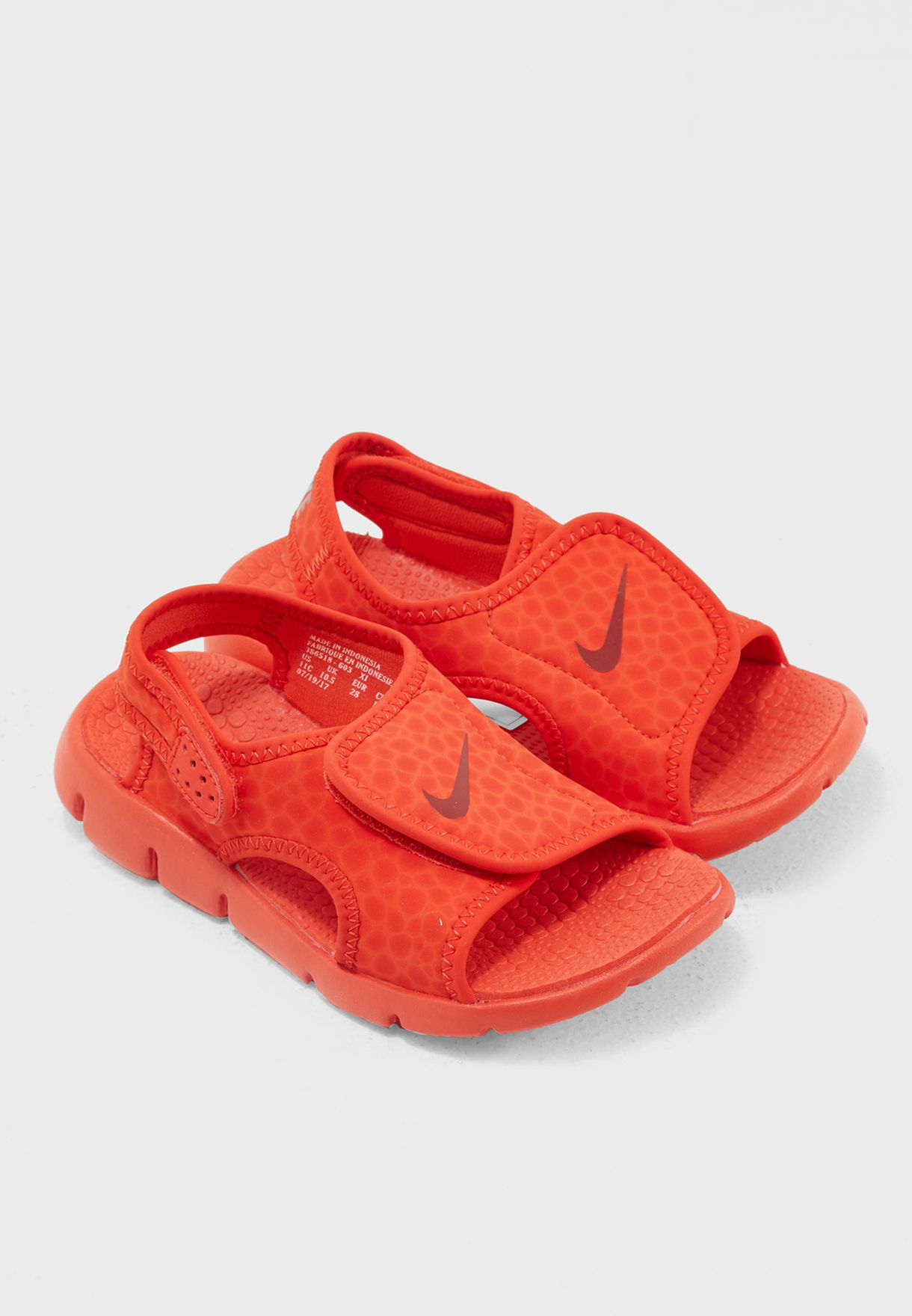 cbc1d4358fa3 Shop Nike orange Sunray Adjust 4 Kids 386518-603 for Kids in UAE ...