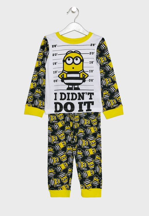 Kids Minion Pyjama Set