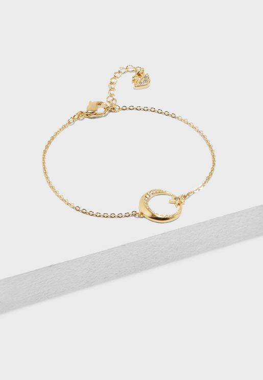 Crescent And Star Bracelet
