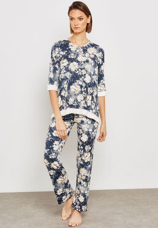 Floral Pyjama Set