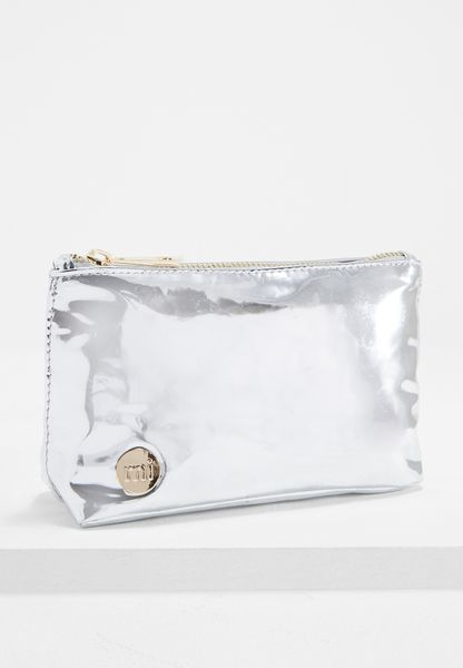 Mirror Cosmetic Bag