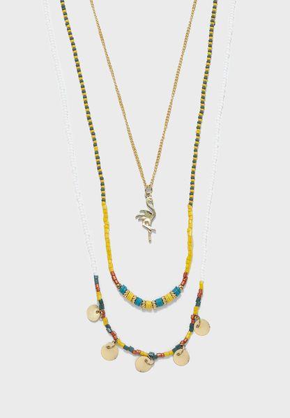 Ben Long Beach Combi Necklace