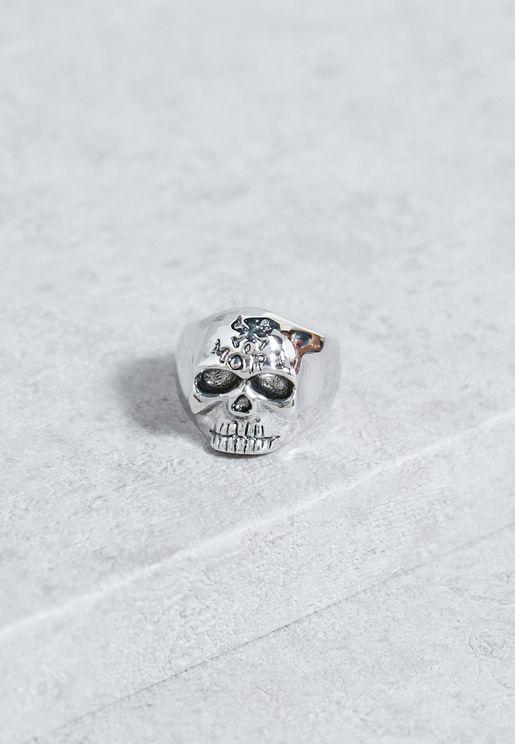 Large Memento Mori Ring