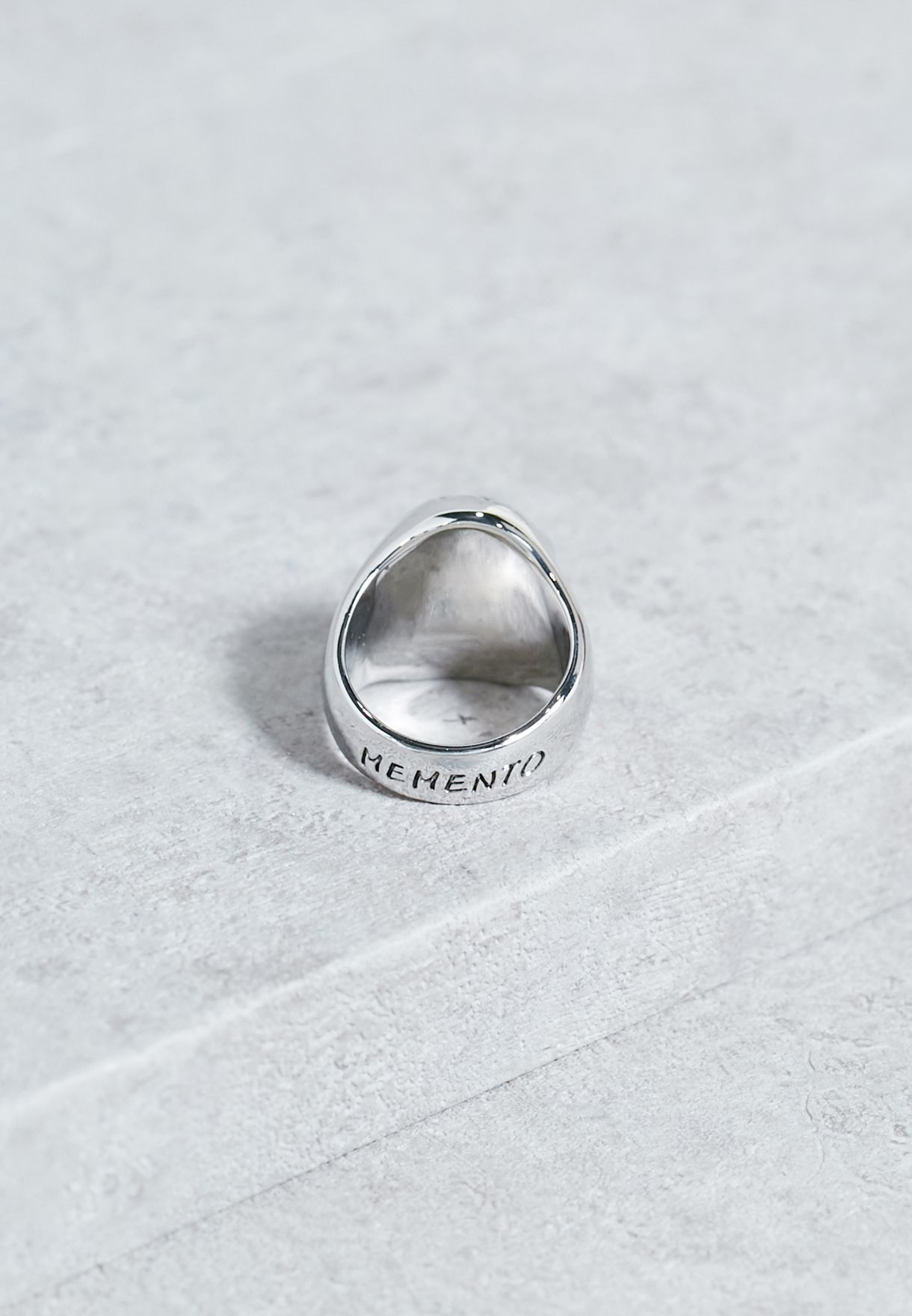Large Memento Mori Ring