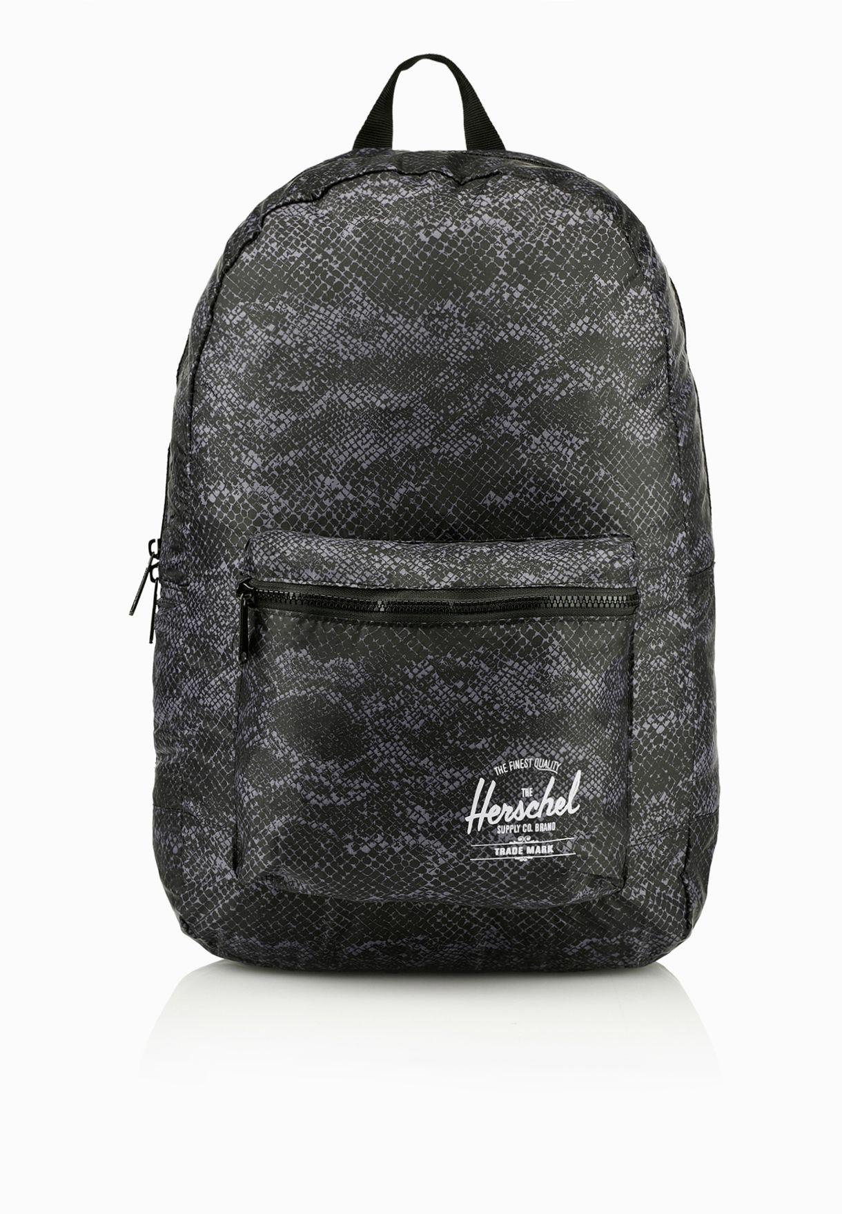 45394618a5e9 Shop Herschel prints Packable Daypack for Women in Qatar - HE829AC51OWE