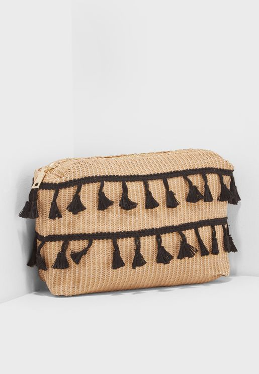 Wicker Wash Bag