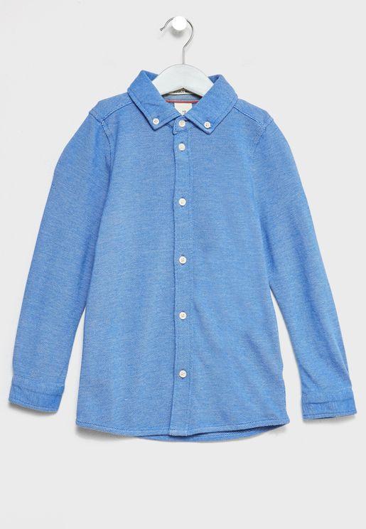 Little Button Down Shirt