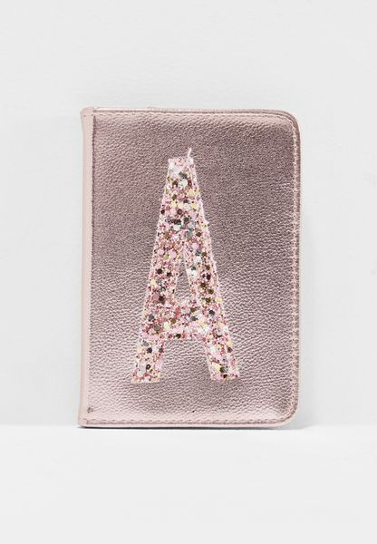 Initial A Passport Holder
