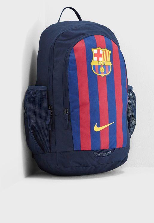 شنطة ظهر بشعار نادي برشلونة