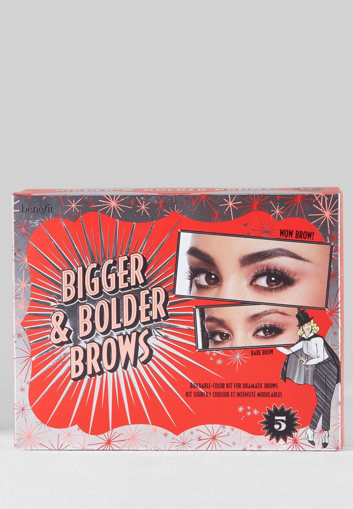 Bigger & Bolder Brows 05 Deep BZ BM KIT