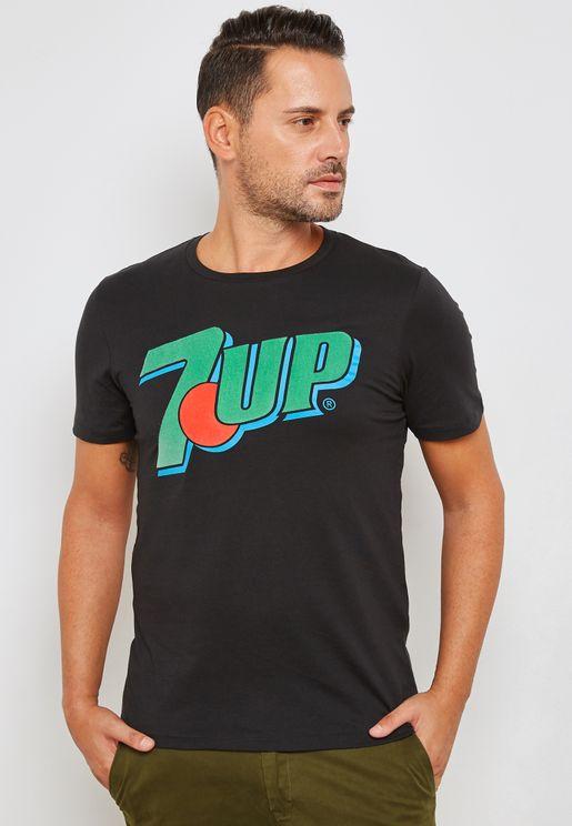7Up Print T-Shirt