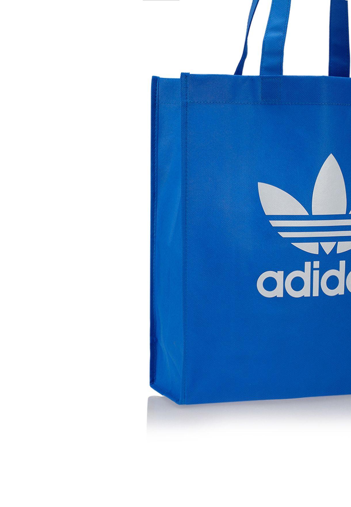 11ce49c3542 Shop adidas Originals blue Trefoil Tote G84861 for Women in Oman ...